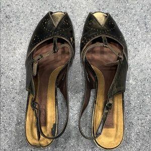 Kenzie Francine wedge sandals
